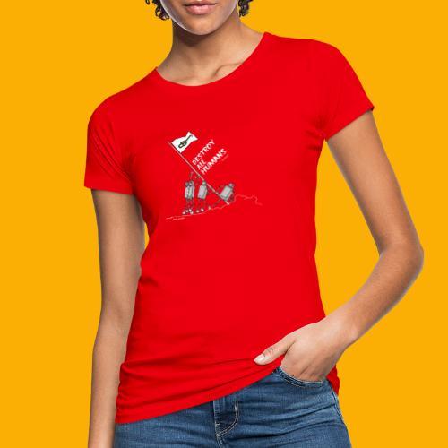 Dat Robot: Destroy War Dark - Vrouwen Bio-T-shirt