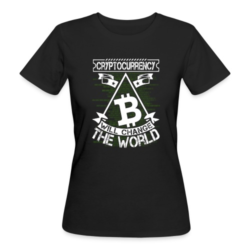 cryptocurrency - Vrouwen Bio-T-shirt