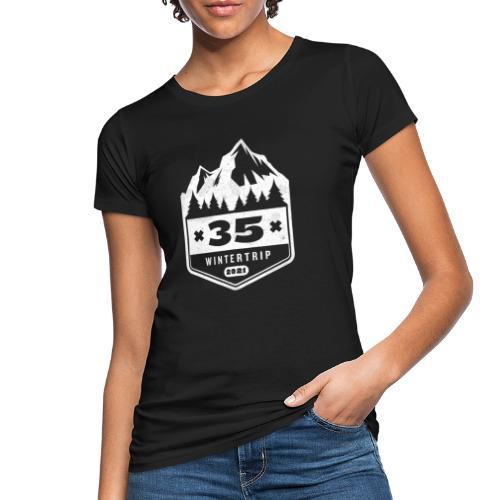 35 ✕ WINTERTRIP ✕ 2021 - Vrouwen Bio-T-shirt