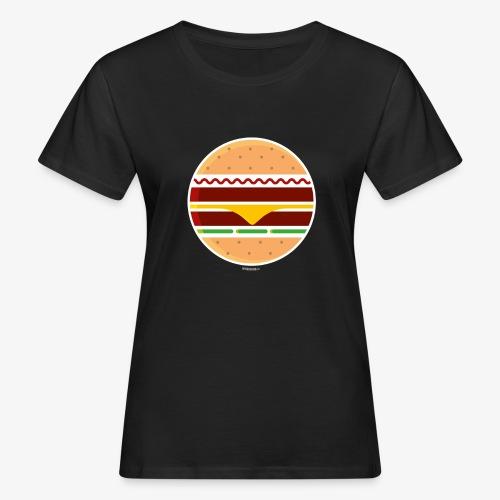 Circle Burger - T-shirt ecologica da donna