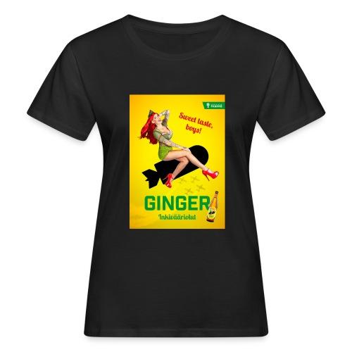 Ginger - Naisten luonnonmukainen t-paita