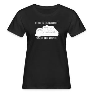 Två typer av ungdomar - Ekologisk T-shirt dam