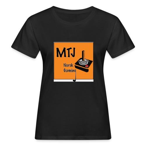 Mtj Logo - Økologisk T-skjorte for kvinner