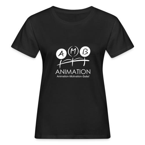 AMB Logo Animation Motivation Belief - Women's Organic T-Shirt