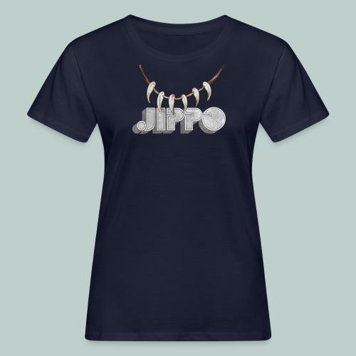 jippo_retro_torahampaat - Naisten luonnonmukainen t-paita
