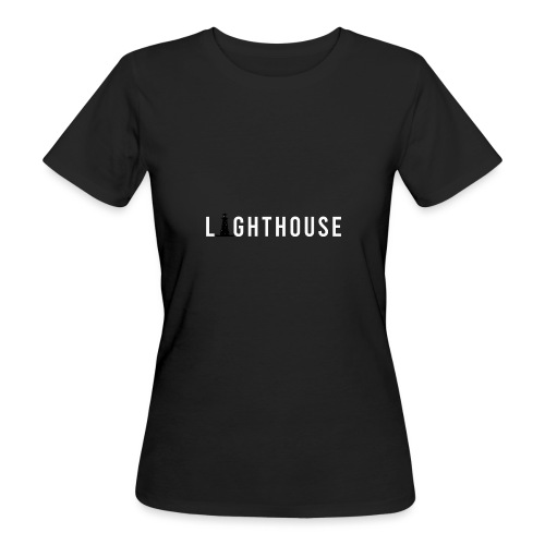Lighthouse Logo - Frauen Bio-T-Shirt