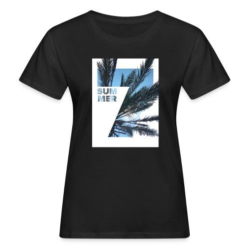 Summertime - Vrouwen Bio-T-shirt
