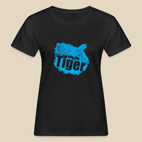 Blue Tiger - T-shirt bio Femme