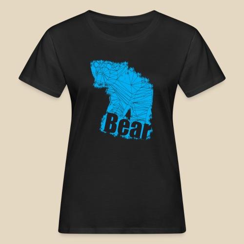 Blue Bear - T-shirt bio Femme