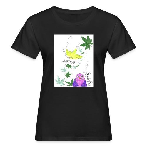 k u s h - Frauen Bio-T-Shirt