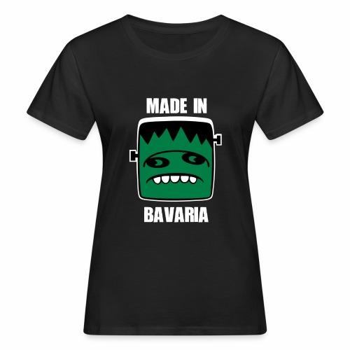 Fonster weiß made in Bavaria - Frauen Bio-T-Shirt