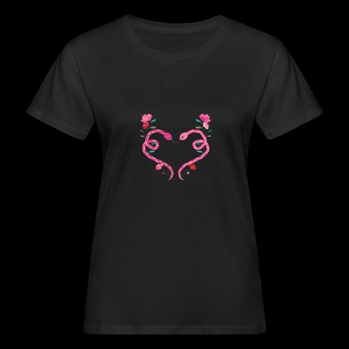 Coeur de serpents - T-shirt bio Femme