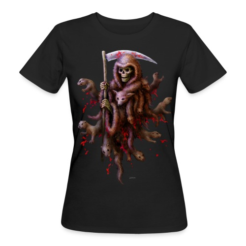 Death loves Fur - Frauen Bio-T-Shirt