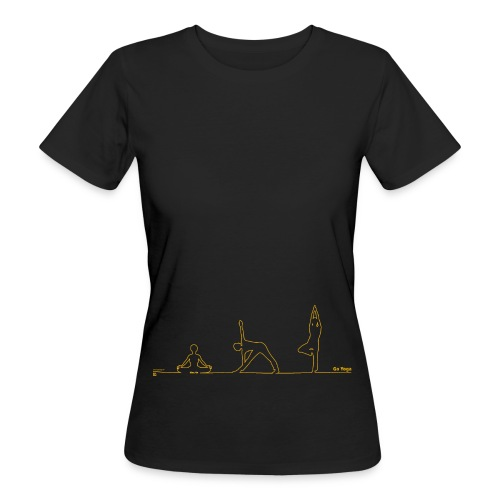 leiberl print 075mm normal gif - Frauen Bio-T-Shirt
