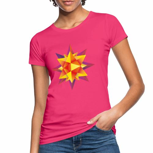 Abstract geometric star - Women's Organic T-Shirt