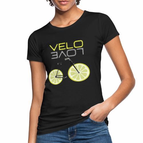 Lemon Bike Shirt Velo Love Shirt Radfahrer Shirt - Frauen Bio-T-Shirt