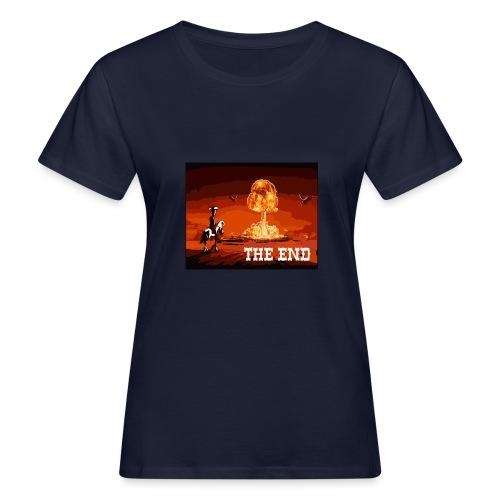 THE END (version 2 : pour toute couleur de fond) - T-shirt bio Femme