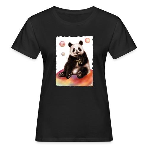 Panda World - T-shirt ecologica da donna