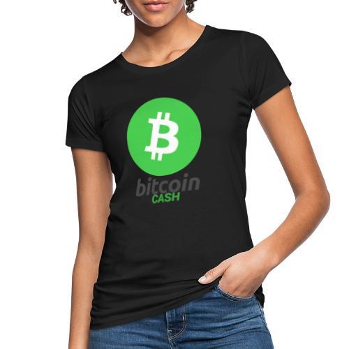 Bitcoin Cash - Ekologisk T-shirt dam