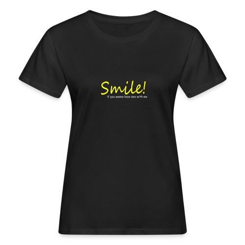 Smile for Sex - Frauen Bio-T-Shirt