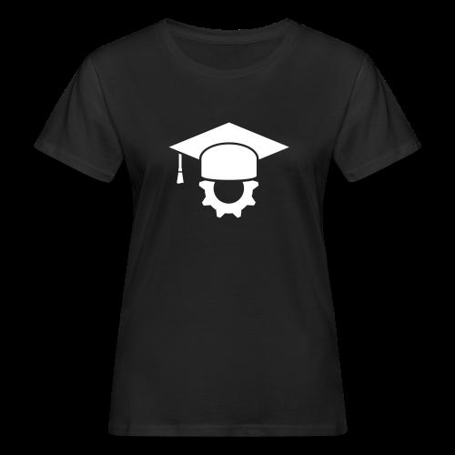 Ingenieur Doktorhut Maschinenbau Geschenk - Frauen Bio-T-Shirt
