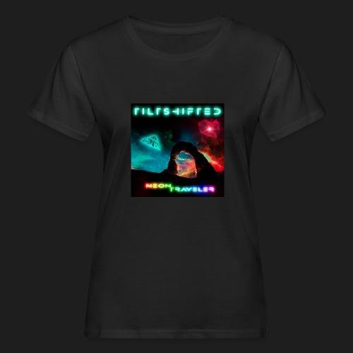TiltShifted - Neon Traveler - Naisten luonnonmukainen t-paita