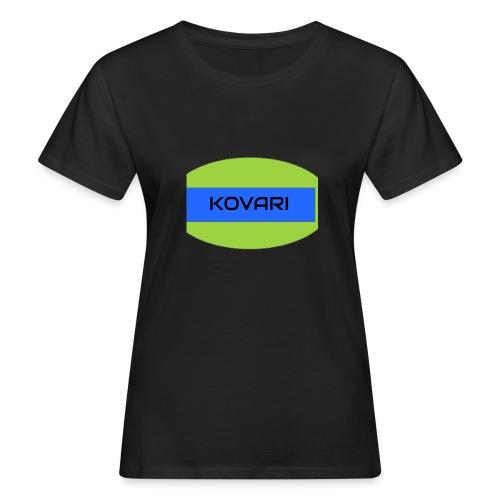 Kovari Logo - Naisten luonnonmukainen t-paita