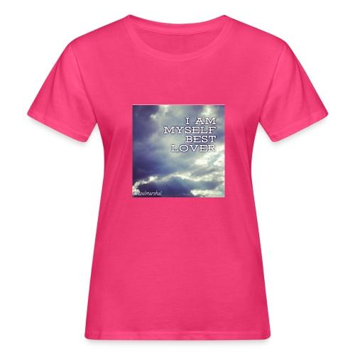 I Am Myself best Lover - Naisten luonnonmukainen t-paita
