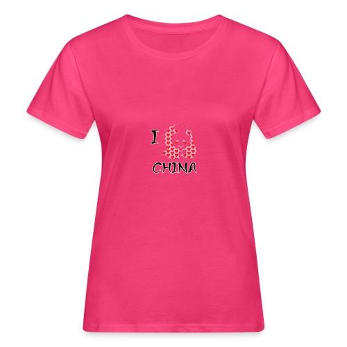 I Love China - Women's Organic T-Shirt