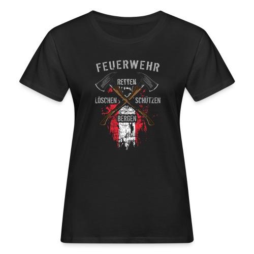 Retten Löschen Bergen Schützen - Frauen Bio-T-Shirt