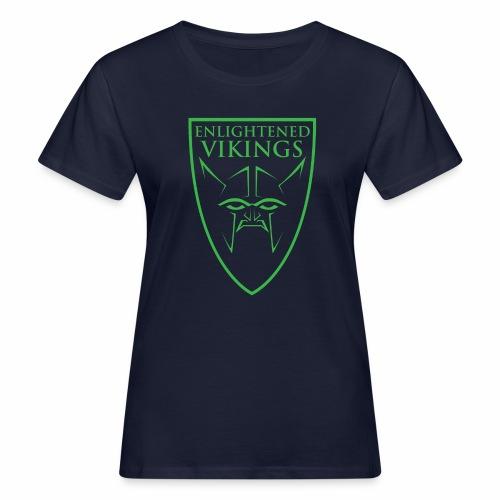 Enlightened Vikings (Org) - Økologisk T-skjorte for kvinner