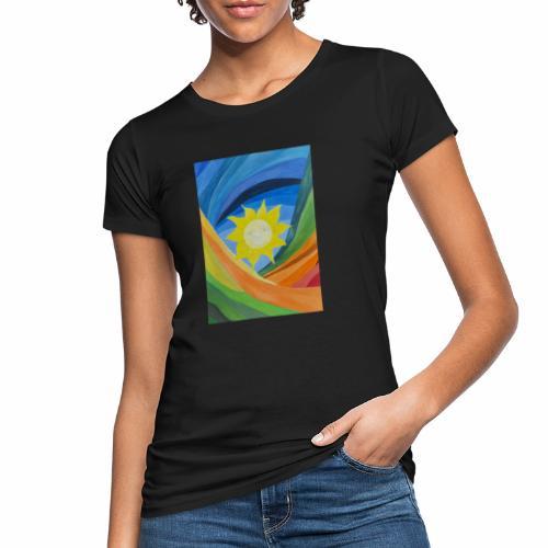 lachende-sonne - Frauen Bio-T-Shirt