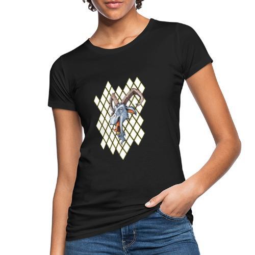 blauer bock - Frauen Bio-T-Shirt