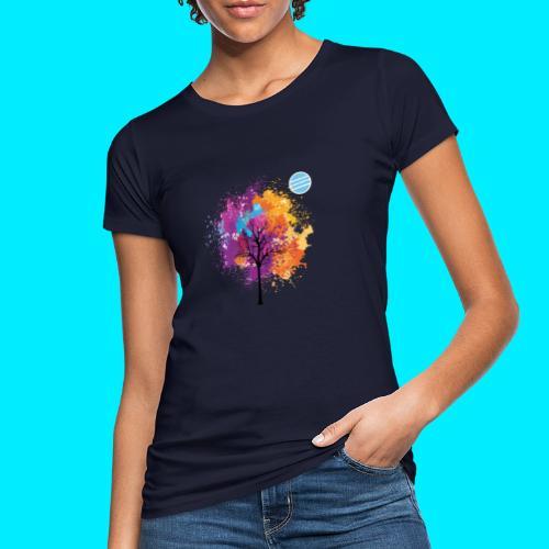 LOGO AUTUNNO BANCOMATTI - T-shirt ecologica da donna