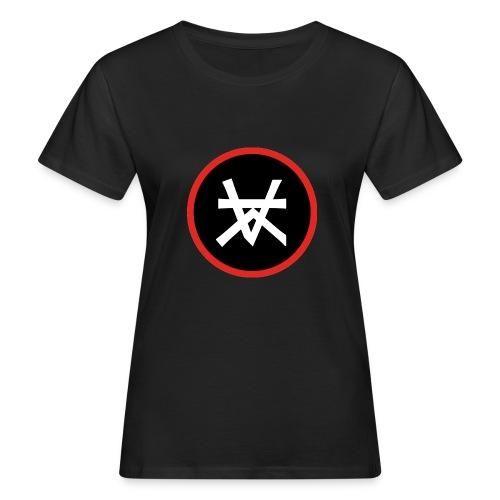 Kairos Logo Red&Round - Vrouwen Bio-T-shirt