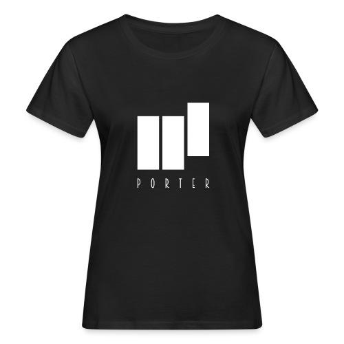 PORTER Sign White - Frauen Bio-T-Shirt