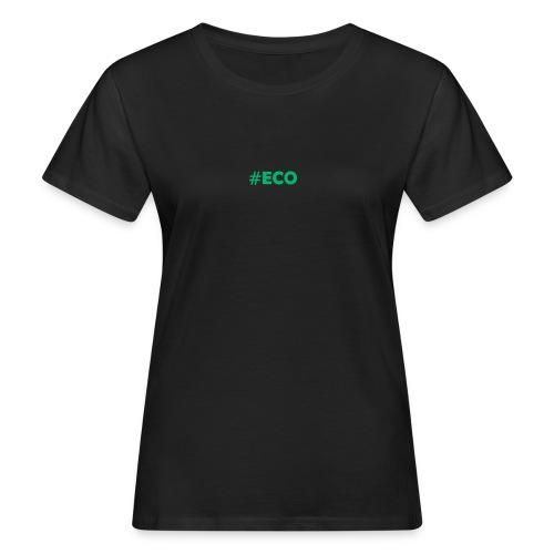 #ECO Blue-Green - Frauen Bio-T-Shirt