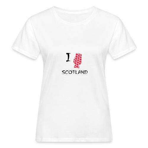 I Love Scotland - Glencairn - Women's Organic T-Shirt