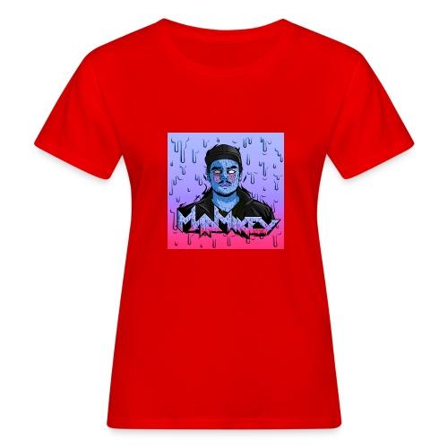 MadMikey Grime Art Blue Bastard - Vrouwen Bio-T-shirt