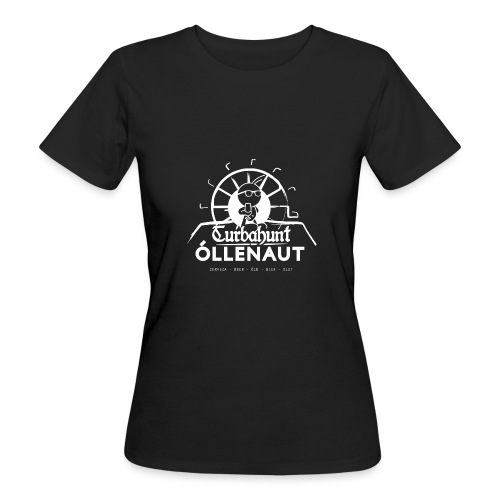 Õllenaut Turbahunt in white - Women's Organic T-Shirt