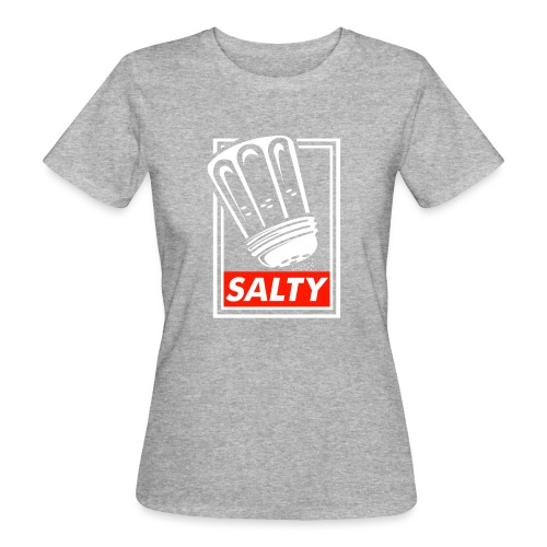 Salty white - Women's Organic T-Shirt