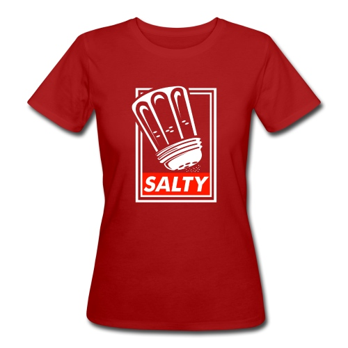 Salty white - Women's Organic T-Shirt