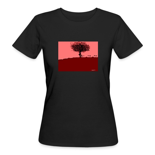 albero_0001-jpg - T-shirt ecologica da donna