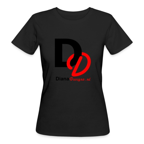 logo_diana_designs-nl - Vrouwen Bio-T-shirt