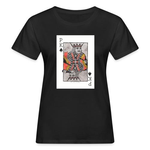 king parties and drinks - Naisten luonnonmukainen t-paita