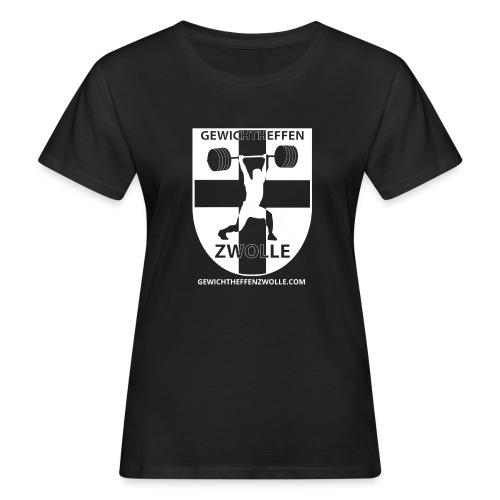 Bestsellers Gewichtheffen Zwolle - Vrouwen Bio-T-shirt
