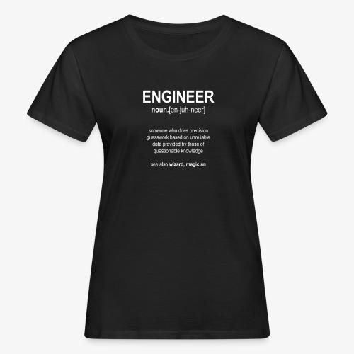 Engineer Def. 01 - T-shirt bio Femme