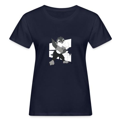 Le pingouin de Nice - T-shirt bio Femme