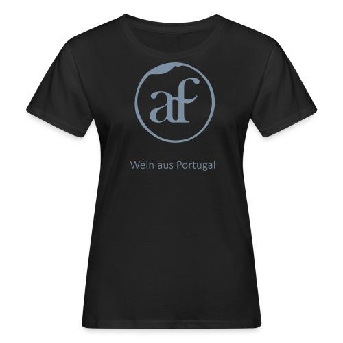 Logo_AF_T-shirt-02 - Frauen Bio-T-Shirt