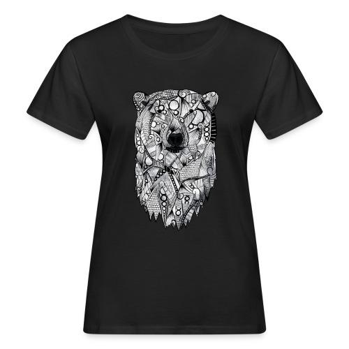 Isbjørn - Økologisk T-skjorte for kvinner